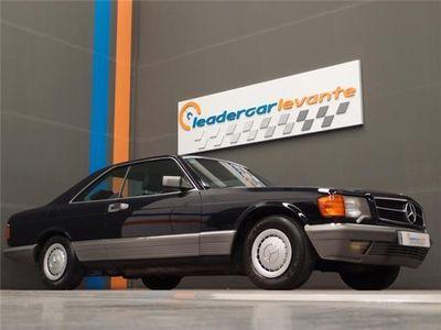 usado Mercedes 500 Clase SEC W126 LIBRO NACIONAL UN SOLO DUEÑO.