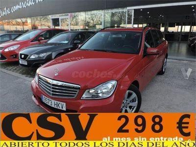 usado Mercedes C200 Clase CCdi Be Blue Efficiency Ed. Estate 5p. -12