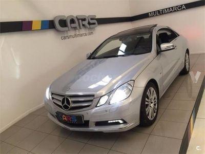 usado Mercedes E350 Clase E CoupeCdi Blue Efficiency Avantg. 2p. -11