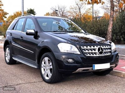 usado Mercedes ML350 CDI 4M Aut. NACIONAL, IVA DEDUCIBLE, REVIS AL DIA