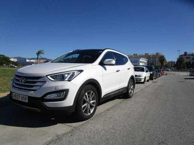 usado Hyundai Santa Fe 2.2 CRDI 4X4 TECNO AUTOMATICO 197 CV FULL EQUIPO U