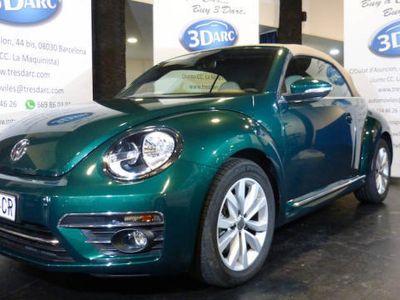 usado VW Beetle Cabrio 2.0TDI Design 150CV *NAVI,CRTL VELOCIDAD*