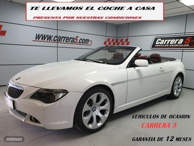 usado BMW 650 Cabriolet Serie 6 iA