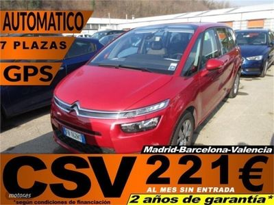 gebraucht Citroën Grand C4 Picasso BlueHDi 120 Feel 7 Plazas 88 kW (120 CV)