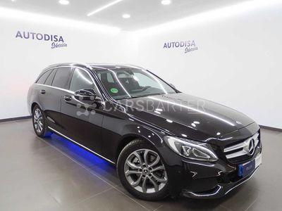 usado Mercedes C220 C 220 2.1 CDI 170CV MT6 E6 EstateAvantgarde 5p