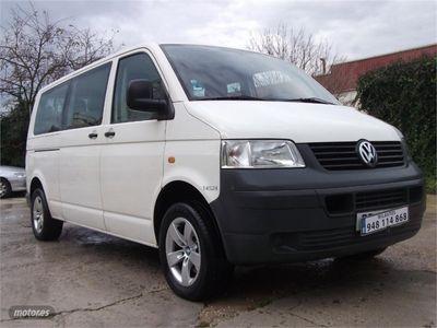 usado VW Transporter Kombi Largo T.Normal 1.9 TDI 102cv 2.8T