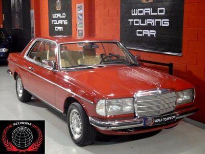 usado Mercedes 280 ***EXCLUSIVO COUPE MB CE W123, PERFECTO ESTADO***