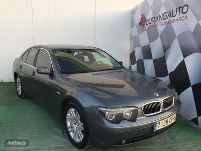 usado BMW 730 Serie 7 E65 E66 Diesel Aut.