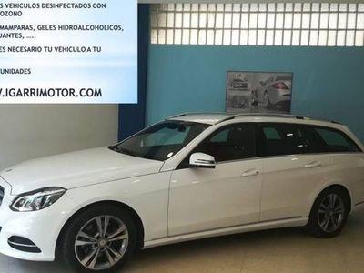 usado Mercedes 250 Clase E EstateBT Elegance 4M 7G Tronic