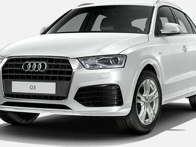 usado Audi Q3 sport edition 2.0 TDI 110 kW (150 CV) S tronic Diésel Blanco matriculado el 12/2017