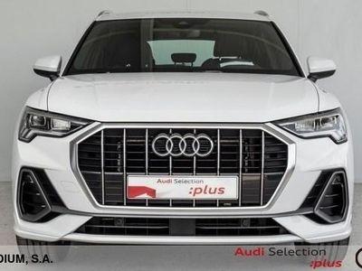 usado Audi Q3 S line 35 TFSI 110 kW (150 CV) S Tronic Híbrido Electro/Gasolina Blanco matriculado el 01/2021