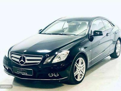 usado Mercedes E300 Clase E CoupeBlue Efficiency Elegance