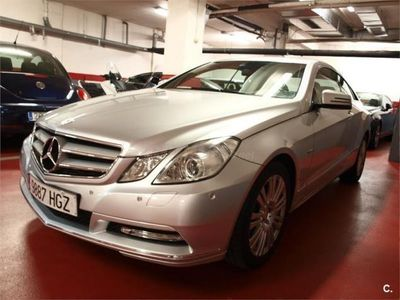 usado Mercedes E350 Clase E CoupeCdi Blue Efficiency Avantg. 2p. -11