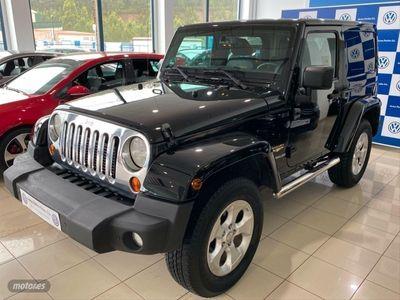 usado Jeep Wrangler 2.8 CRD Sahara Auto