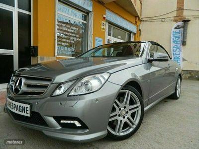 usado Mercedes E250 Clase E CabrioCDI BE Avantgarde