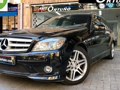 usado Mercedes 180 Clase C EstateBE Avantgarde 7G