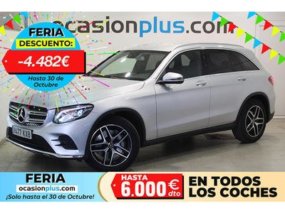 usado Mercedes GLC220 220 d 4MATIC Pack AMG (170 CV)