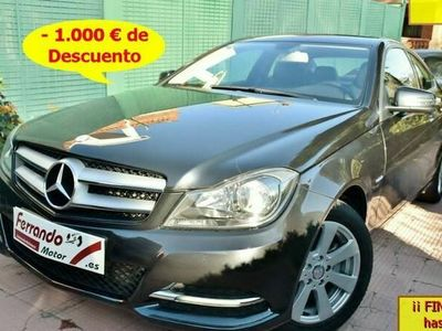 usado Mercedes 180 Clase C CoupéBE Edition (9.75)