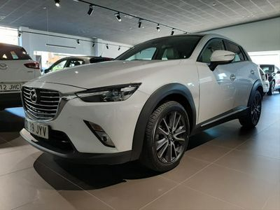 used Mazda CX-3 1.5D Luxury Pack White 2WD