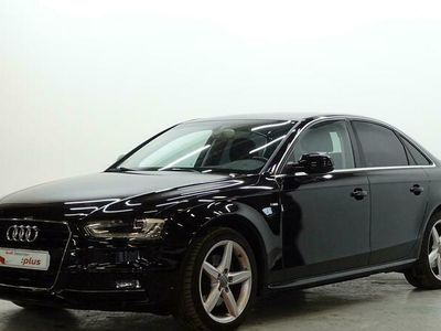 usado Audi A4 S line edition 2.0 TDI clean diesel 110 kW (150 CV) multitronic Diésel Negro matriculado el 01/2015