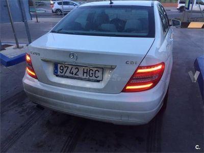 usado Mercedes C200 Clase CCdi Blue Effic. Avantgarde Estate 5p. -11