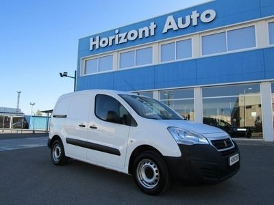 usado Peugeot Partner 1.6 Blue HDui Furgon L1 75cv Gris plata