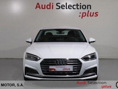 usado Audi A5 Coupe S line 2.0 TDI 140 kW (190 CV) Diésel Blanco matriculado el 08/2017