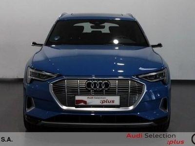 usado Audi E-Tron - edition One 55 quattro 300 kW (408 CV) Eléctrico Azul matriculado el 03/2019