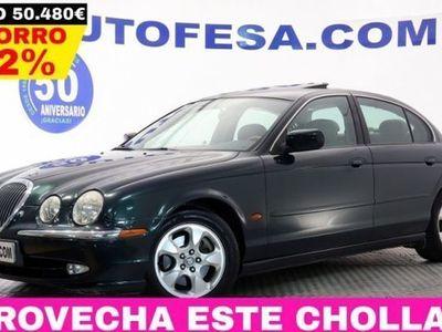 usado Jaguar S-Type 3.0 V6 238CV EXECUTIVE 4P # CUERO, TECHO, LIBRO