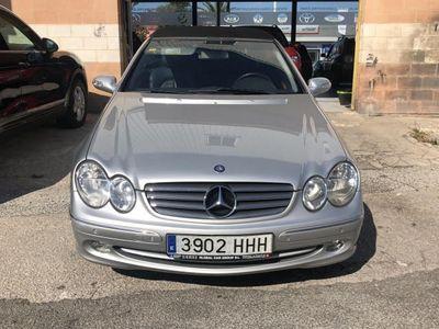usado Mercedes CLK200 Cabrio Kompressor Elegance
