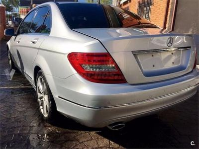 usado Mercedes C220 Clase CCdi Be Avantgarde Blue Effic. Ed. 4p. -13