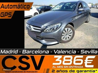 usado Mercedes C220 Clase Cd Estate
