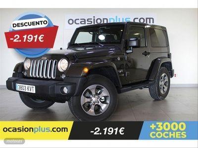usado Jeep Wrangler 2.2 CRD Sahara 8ATX E6D