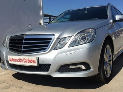 usado Mercedes 350 Clase E EstateAvantgarde 4M 7G