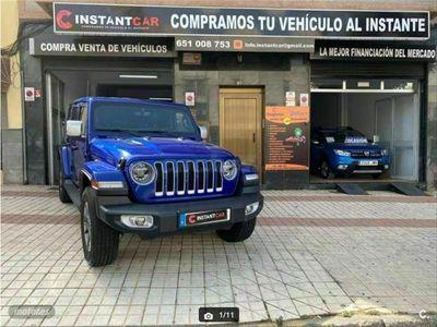 usado Jeep Wrangler 4p 2.0T GME Sahara 8ATX E6D