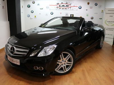 brugt Mercedes E350 Cabrio CDI BE Aut. AMG PACK