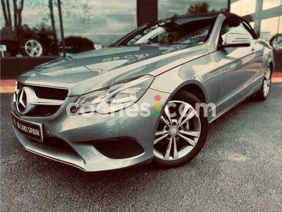 usado Mercedes 200 Clase E E Cabrio184 cv en Alicante
