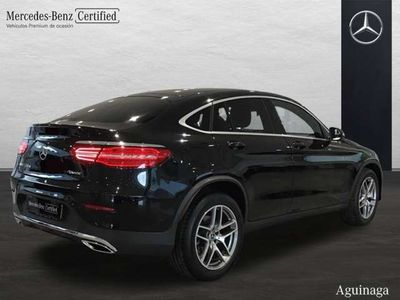 usado Mercedes GLC220 Coupé d 4Matic AUT /// AMG INT + EXT CHOLLITO!!