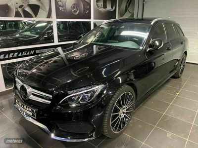 usado Mercedes C400 Clase C4Matic AMG Line Estate