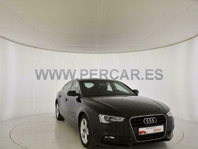 usado Audi A5 Sportback Advanced 2.0 TDI clean diesel 140 kW (190 CV) multitronic Diésel Negro matriculado el 09/2015