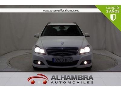 usado Mercedes C200 C 200 CLASECDI ESTATE BLUE EFFICIENCY