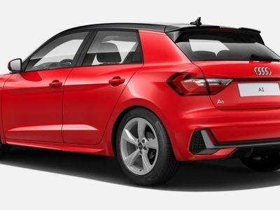 usado Audi A1 Sportback S line 30 TFSI 85 kW (116 CV) S tronic Gasolina Rojo matriculado el 10/2019