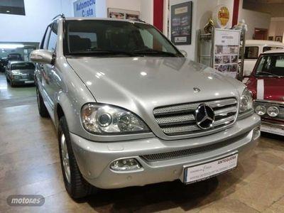 usado Mercedes ML270 Clase MCDI INSPIRATION W163