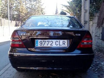 usado Mercedes C220 Familiar CDI elegant