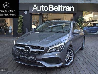 usado Mercedes CLA200 7G-DCT AMG Style Edition - CUERO - CARBONO -CAMARA