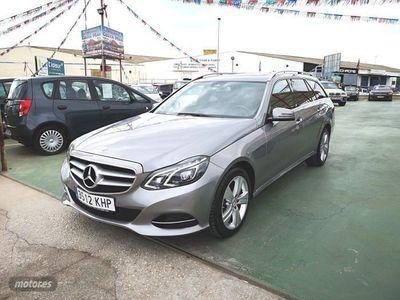 usado Mercedes 250 Clase E EstateBT 4M 7G Tronic Plus
