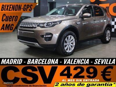 usado Land Rover Discovery 2.0L TD4 180CV 4x4 HSE