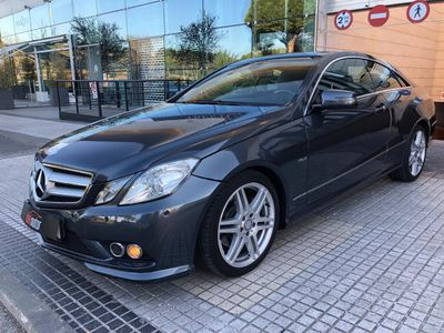 usado Mercedes E220 Coupé CDI BE AMG