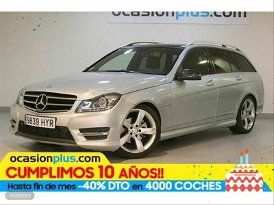 usado Mercedes C220 Clase CCDI Avantgarde Estate