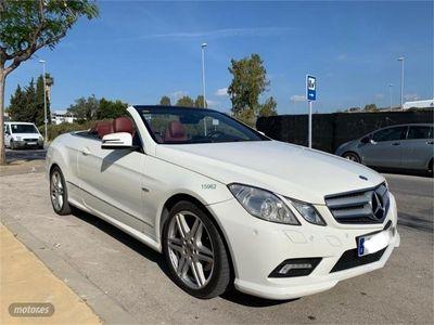 used Mercedes E350 Clase E CabrioCDI BE Avantgarde